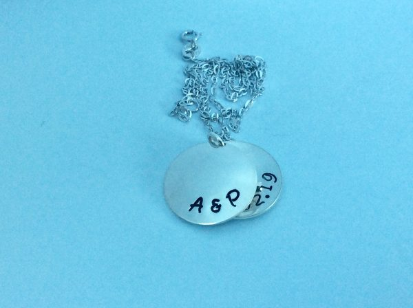 Personalised Silver Open Locket