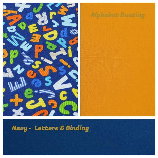 Personalised Name Bunting - Bunting Alphabet