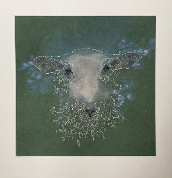 Embroidered and Hand Painted Sheep Wall Art 2 - C2B0781E 4A82 4257 A93C 627883A239C3 1 201 a