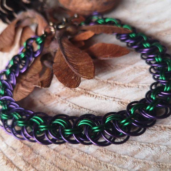 Orbital Viper Chainmaille Bracelet