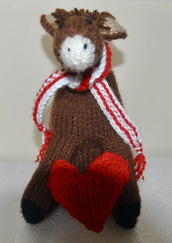 Padraig the Donkey, Knitted Toy - DSC 0003