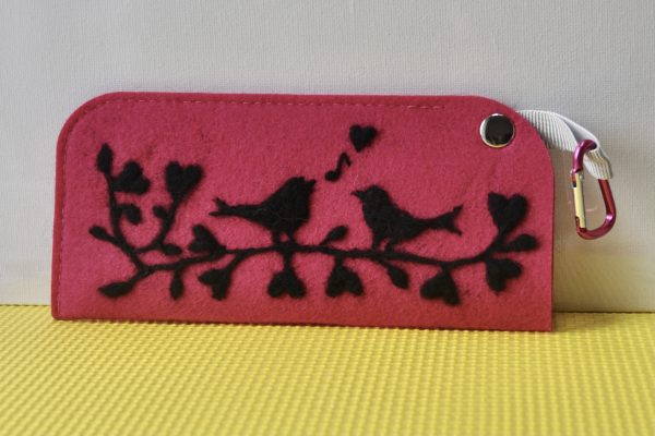 One-of-a-Kind Needlefelted Pouch Collection - DSC 0931