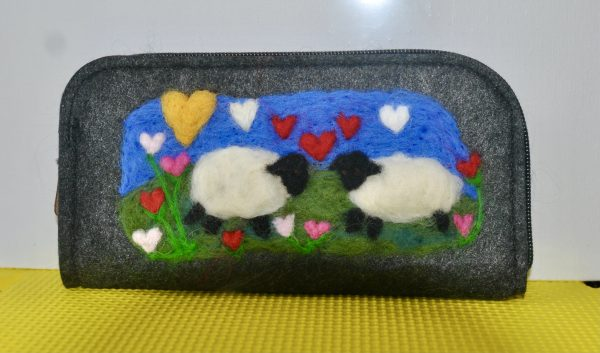 Needlefelted Wallets/Purse Collection