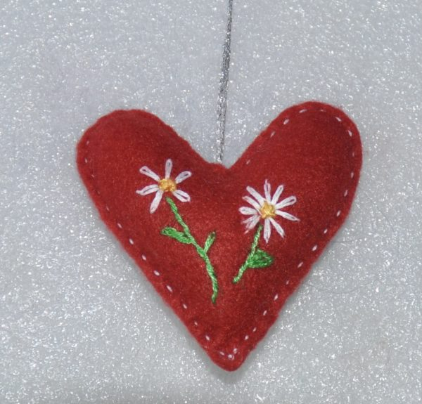 With Love One-of-a-Kind Embroidered Hearts - DSC 0942