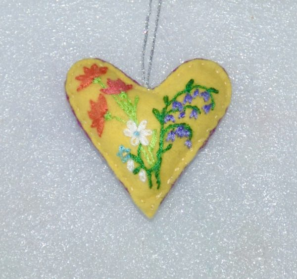 With Love One-of-a-Kind Embroidered Hearts - DSC 0955
