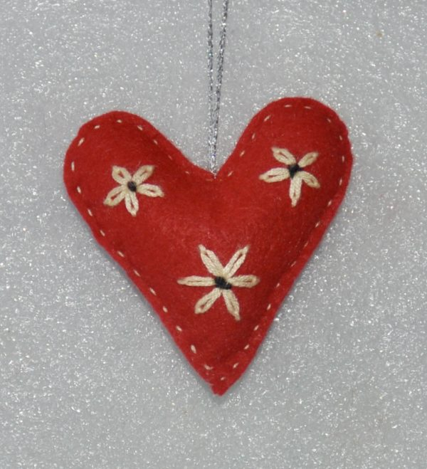 With Love One-of-a-Kind Embroidered Hearts - DSC 0958