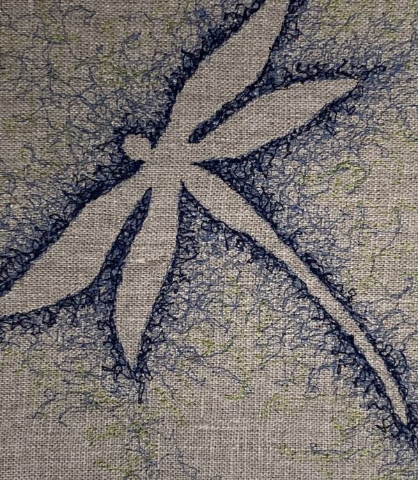 Embroidered Dragonfly Wall Art - FC32944C 930B 47E6 A810 2BEA79A3F222 1 201 a