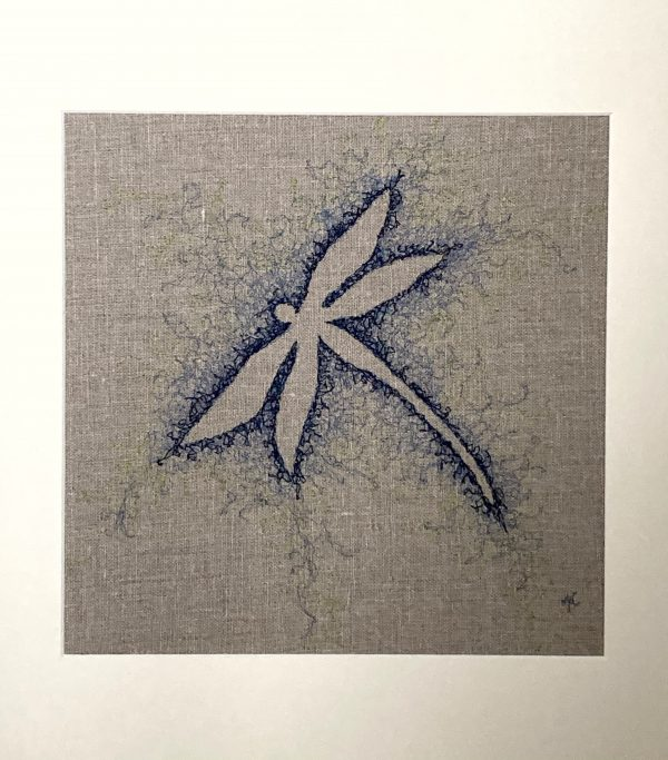 Embroidered Dragonfly Wall Art - FC91BFCE D472 48FF A9E8 C94AFF21A5FF 1 201 a