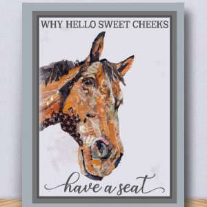 Horse Art Block