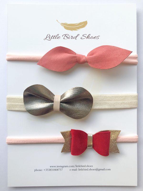 Set of Three Hair Bows - IMG 1286
