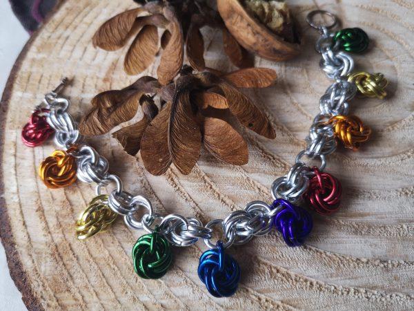 Mobius Charm Bracelet