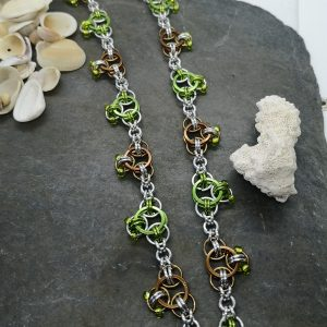 Celtic Knots Chainmaille Necklace