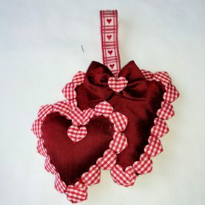 Twin Hearts Decoration