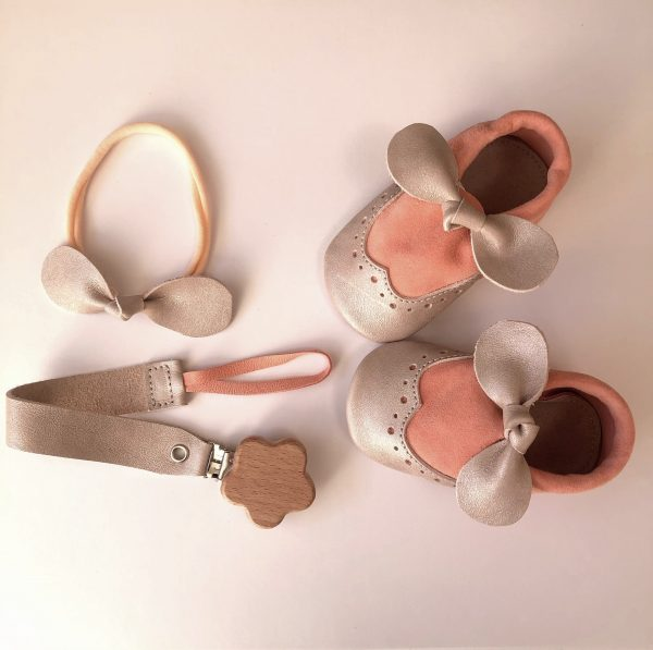 Personalised Soother Clip with a Bow - IMG 2314