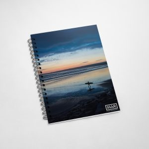 Beach Surfer A5 Notebook