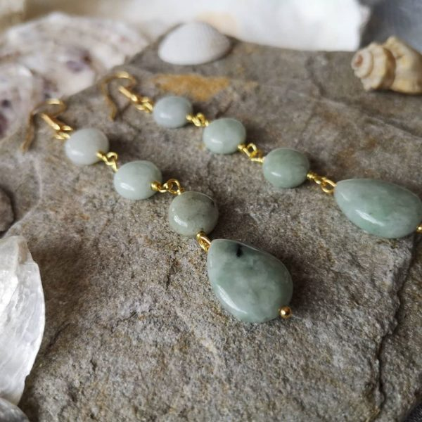 Bermese Jadite Earrings