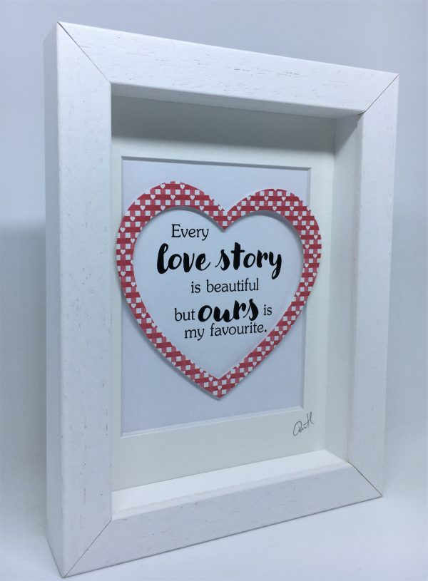 Little Framed Pic: Love Story - Our Love Story 1