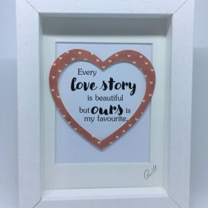 Little Framed Pic: Love Story