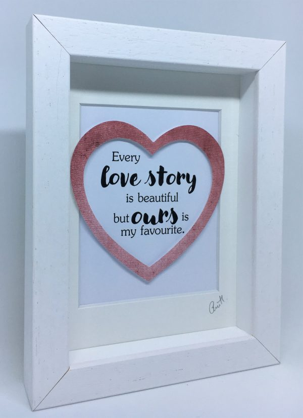 Little Framed Pic: Love Story - Our Love Story 3