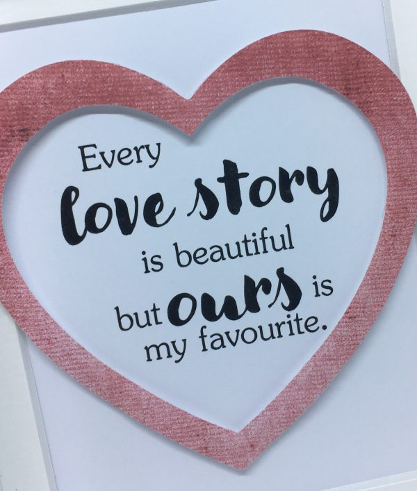 Little Framed Pic: Love Story - Our Love Story 4