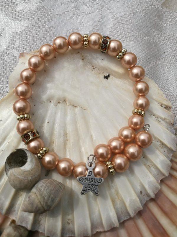 Pearl Wrap Bracelet - Pearls Gold