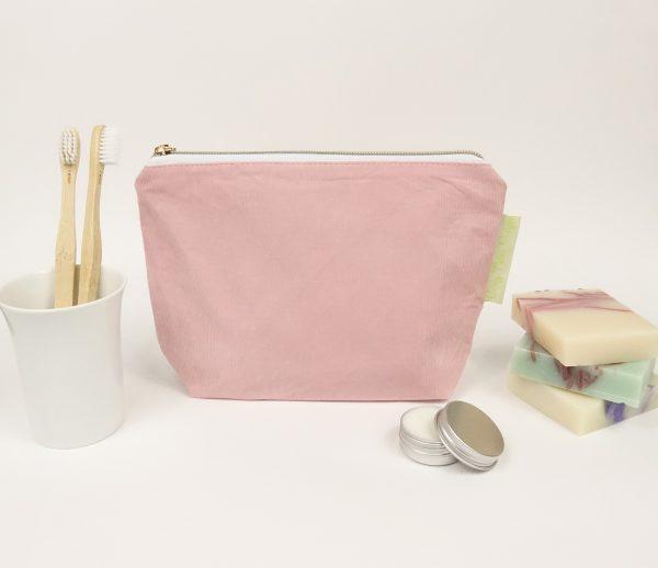Baby Pink cord makeup bag - RX300810
