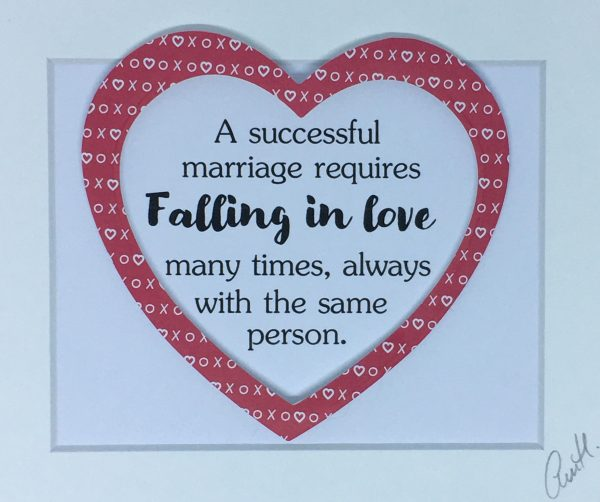 Little Framed Pic: Successful Marriage