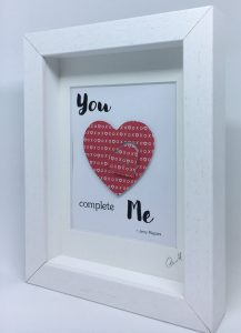 Little Framed Pic: You Complete Me