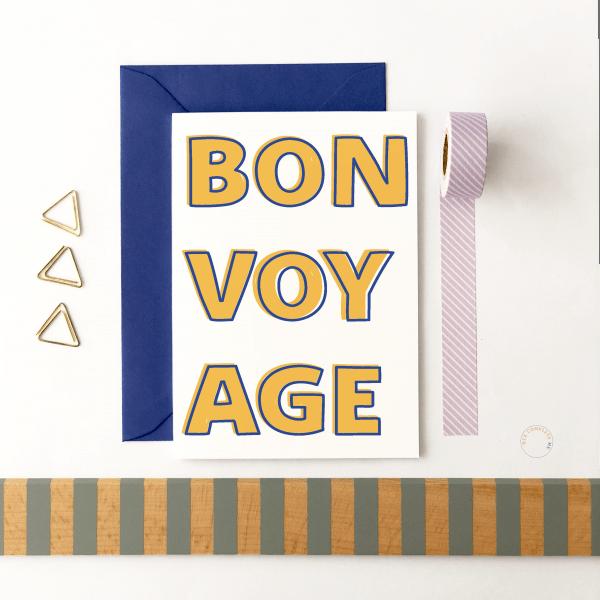 Bon Voyage Card - bonvoyage 1
