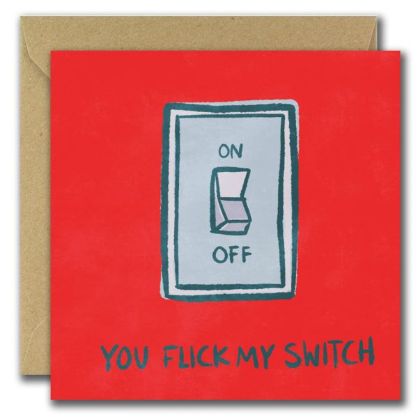 You Flick My Switch Card