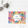 Floral To The Love Of My Life Card