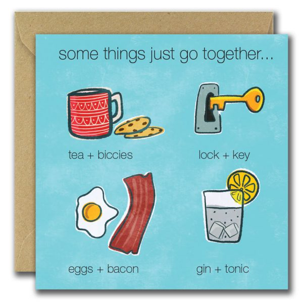 Some Things Go Together Card