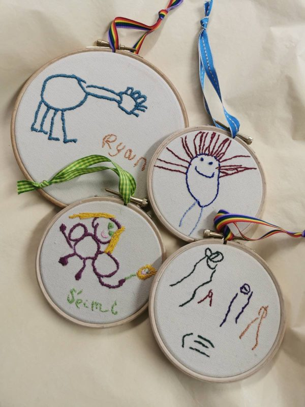 Your Child's Art Embroidery