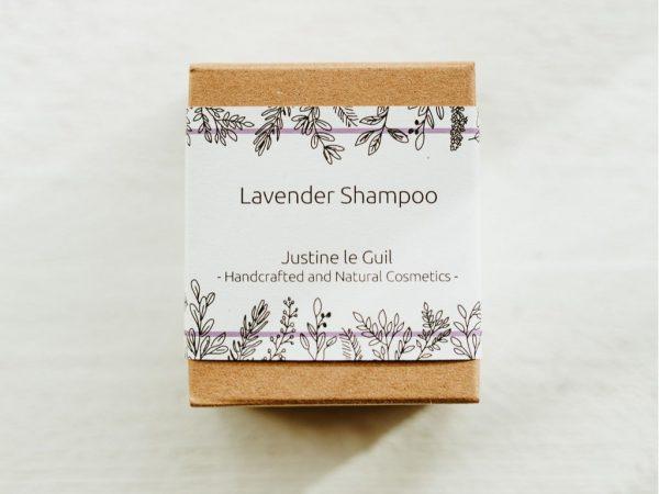 solid lavender shampoo