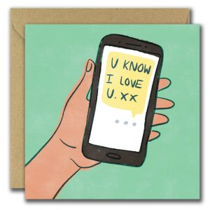 It's My Favourite Vowel Card