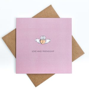 Claddagh Love and Friendship Card