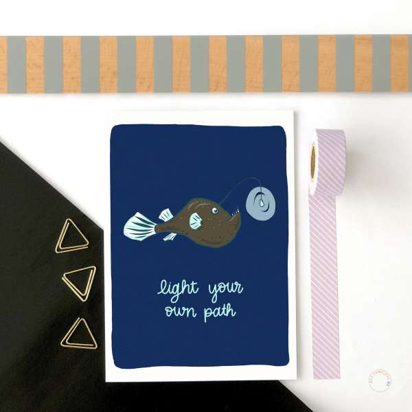 Light Your Own Path Card
