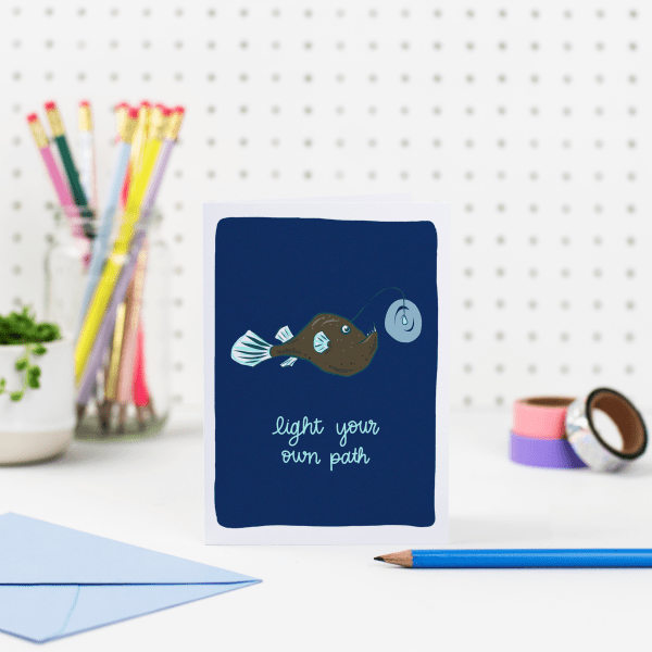 Light Your Own Path Card - light your path 3