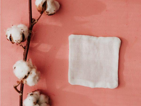 organic cotton wipe