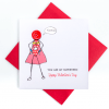 Super Girl Valentine's Card