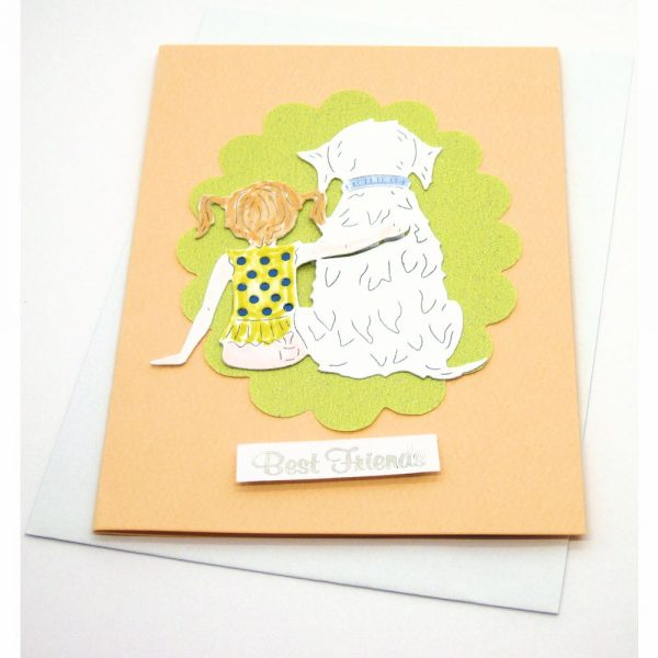 Handmade Best Wishes Card - 12 - 12y