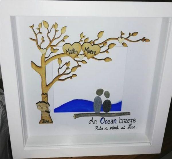 Ocean Breeze Personalised Frame