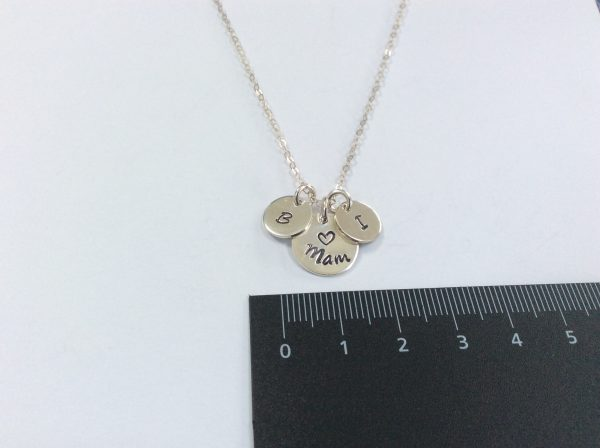 Mothers Day Mam Nana Necklace with Children Initials - 191EE479 15B7 46B4 A249 1FCC75CEA459