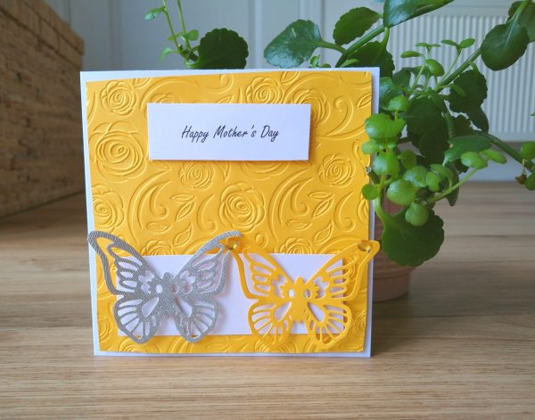 Selection of Mother's Day Cards - 2 butterflies
