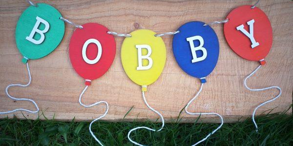 Personalised Balloon Bunting - 20200730 224506