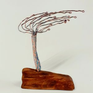 Wild Atlantic Tree - Copper and Reclaimed Wood