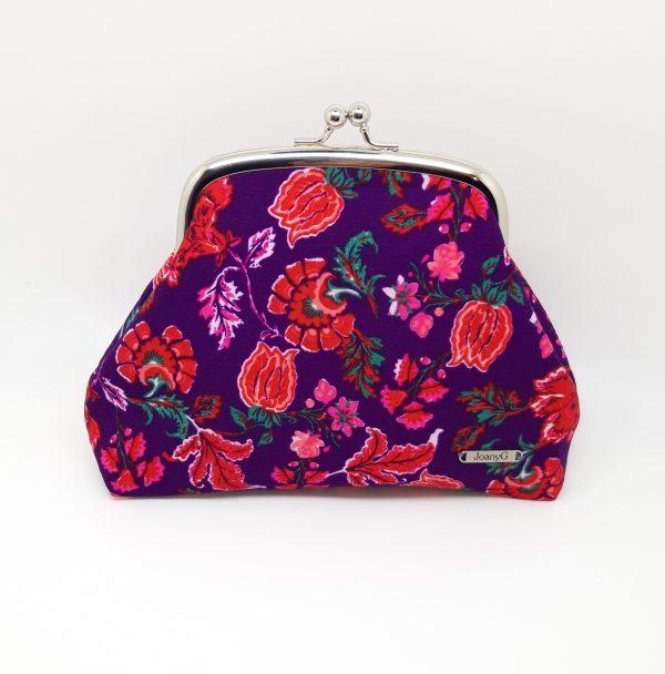 Purple Floral Clutch Bag - 20210202 183050