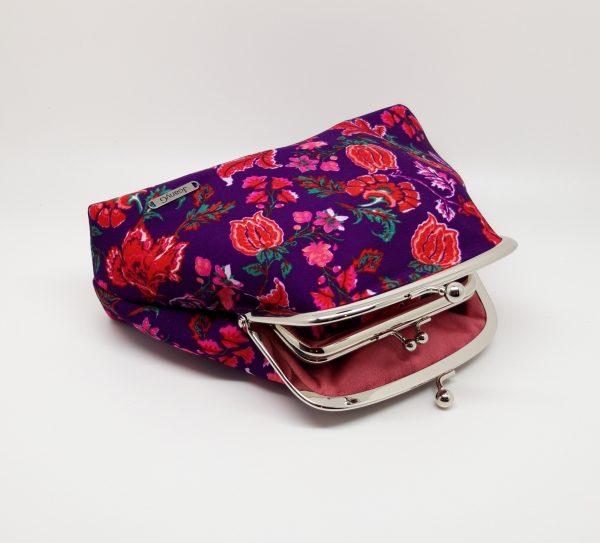 Purple Floral Clutch Bag - 20210202 183134