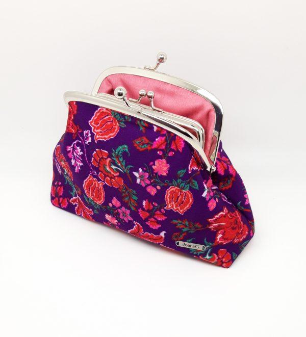 Purple Floral Clutch Bag - 20210202 183215