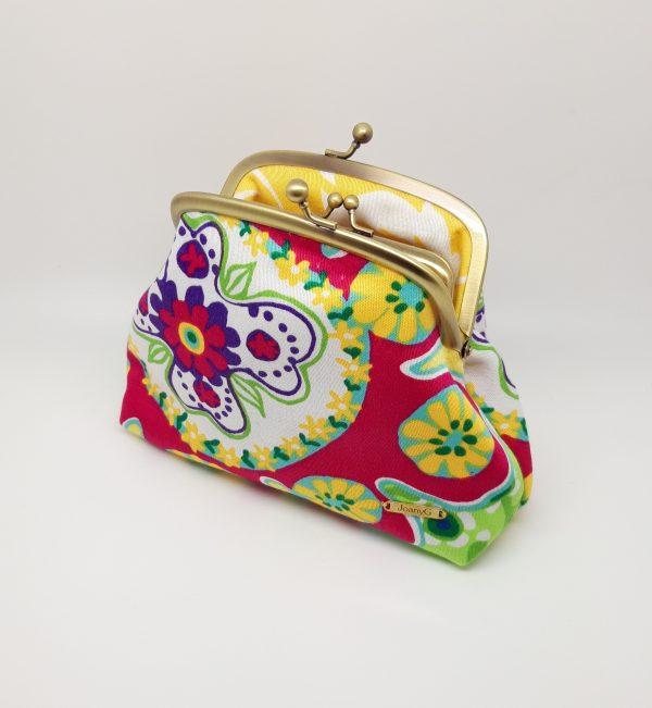 Summer Flower Clutch Bag